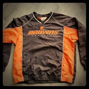 Cleveland Brown's Warm Up Jacket